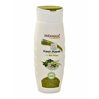 Шампунь патанжали Patanjali Kesh Kanti Hair Cleanser With Milk Protein 200ml