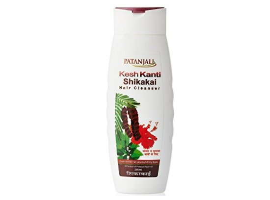 Купить Шампунь патанжали Patanjali Kesh Kanti Shikakai Hair Cleanser 200 ml