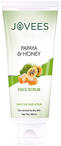 Купить Джовис скраб для лица Jovees papaya and honey 100гр.