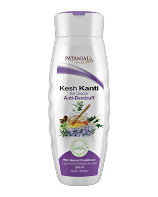 Шампунь патанжали Patanjali Kesh Kanti Anti-Dandruff Hair Cleanser 200ml